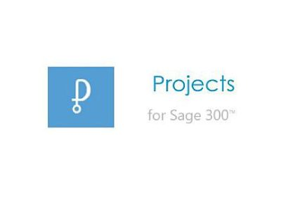 Projects for Sage 300 ERP – Time Billing, Job Costing and Project Management